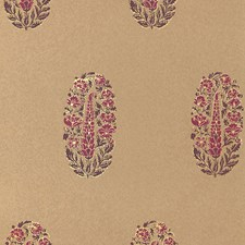 Aubergine/amp/Cerise Wallcovering by Schumacher Wallpaper