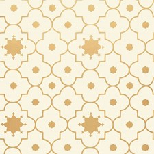 Burnished Gilt Wallcovering by Schumacher Wallpaper