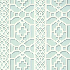 Winter Mint Wallcovering by Schumacher Wallpaper
