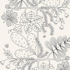 Noir/Blanc Wallcovering by Schumacher Wallpaper