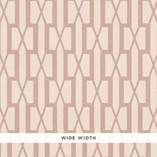 Pink Wallcovering by Schumacher Wallpaper