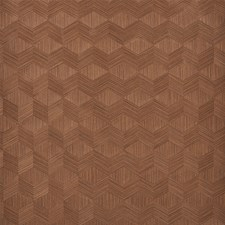 Walnut Wallcovering by Schumacher Wallpaper