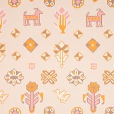 Pink/amp/Orange Wallcovering by Schumacher Wallpaper