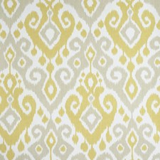 Yellow/Stone Wallcovering by Schumacher Wallpaper