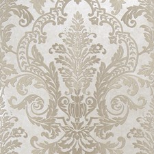 Antique Jacquard Pattern Wallcovering by Fabricut Wallpaper