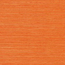 Tangerine Wallcovering by Phillip Jeffries Wallpaper