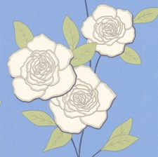 White/Sky Wallcovering by Cole & Son Wallpaper