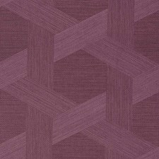 Violet Aster Wallcovering by Phillip Jeffries Wallpaper