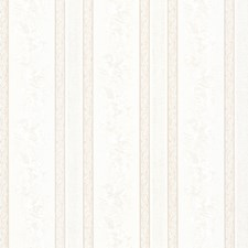White Stripe Wallcovering by Brewster