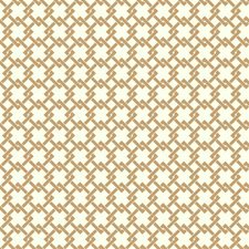 Gold/White Geometrics Wallcovering by York