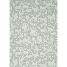 Powder Animal Wallcovering by Andrew Martin Wallpaper