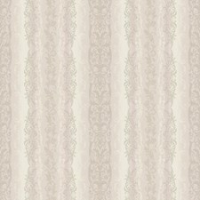 Iridescent Cream/Beige and Lilac/Pearl Cream and Soft Gold Damask Wallcovering by York