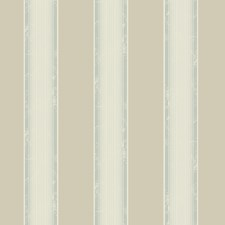 Cream Stripe Wallcovering by Brewster