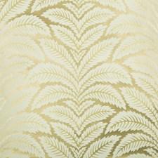 Gold Botanical Wallcovering by Brunschwig & Fils