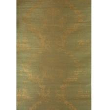 Gold On Spring Green Print Wallcovering by Brunschwig & Fils