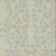Silver Metallic/Gray Grasscloth Wallcovering by York
