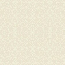 Cream Traditional Wallcovering by York