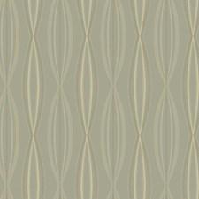 Soft Silver/Beige/Grey Geometrics Wallcovering by York