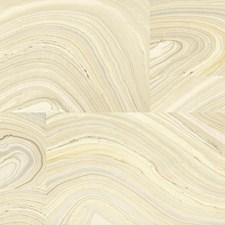 Cream/Beige/Grey Metallic Wallcovering by York