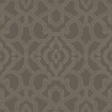 Dark Grey/Pale Grey Damask Wallcovering by York