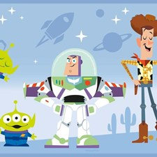 DI1019BD Disney and Pixar Toy Story 4 Border by York