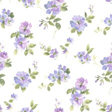 Purple Transitional Wallpaper Wallcovering by Brewster