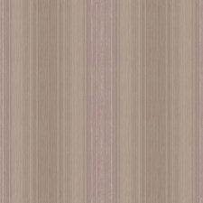 Silver/Browns/Medium Purple Stripes Wallcovering by York