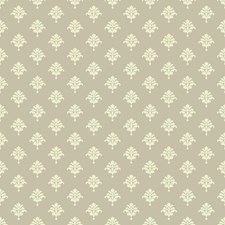 Light Grey/Cream Raised Prints Wallcovering by York