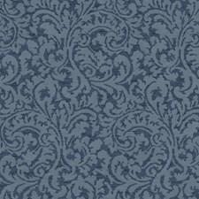 Dark Blue/Medium Blue/Light Blue Traditional Wallcovering by York