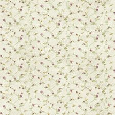 Cream/Purple/Yellow Floral Medium Wallcovering by York