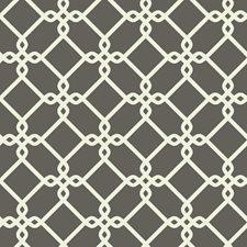 Dark Grey/White Geometrics Wallcovering by York