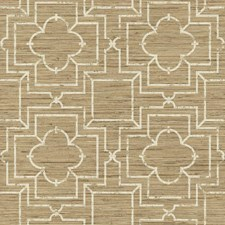Shades Of Tan/Cream Faux Grasscloth Wallcovering by York