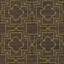 Shades Of Brown/Dull Gold Faux Grasscloth Wallcovering by York