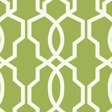 Yellow/Green/White Geometrics Wallcovering by York