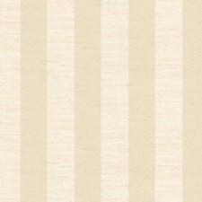 Soft Linen Beige/Soft Cool Beige Stripes Wallcovering by York