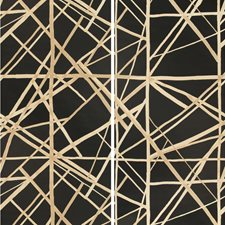 Onyx/Almond Modern Wallcovering by Groundworks