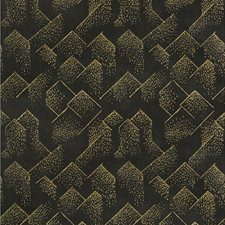 Gold/Onyx Contemporary Wallcovering by Groundworks