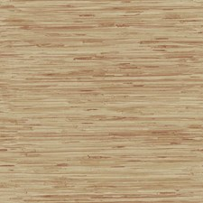 Brick Red/Straw Gold/Tan Grasscloth Wallcovering by York