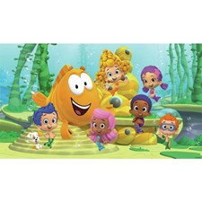 JL1340M Bubble Guppies XL Mural by York