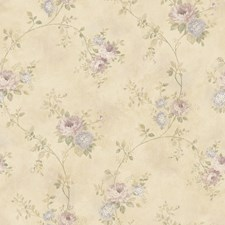Lavender Kitchen and Bath Wallcovering by Brewster