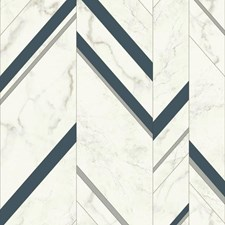 MM1804 Marble Chevron by York