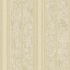 Sage/Gold Stripes Wallcovering by York
