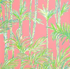 Hotty Pink Print Wallcovering by Lee Jofa Wallpaper