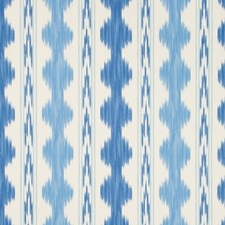 Canton/Sky Print Wallcovering by Brunschwig & Fils