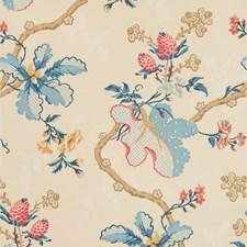 Cream Botanical Wallcovering by Brunschwig & Fils