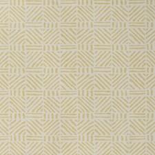 Yellow Geometric Wallcovering by Lee Jofa Wallpaper