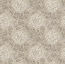 Red Medallion Wallcovering by Brewster