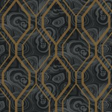 Light Grey/Medium Grey/Dark Grey Bohemian Wallcovering by York