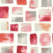 Pink/Red/Gray Modern Wallcovering by York