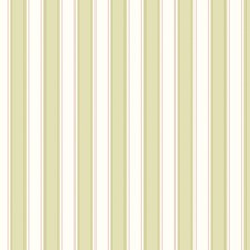 Green/White Stripes Wallcovering by York